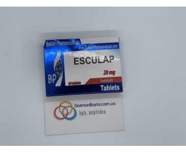 Esculap 20 mg 5 tab (Balkanpharmaceuticals)