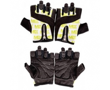 Mex Nutrition Smart Zip Gloves Lime (Смарт Зип Перчатки)
