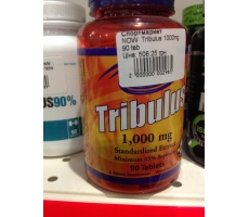 NOW  Tribulus 1000mg  (Трибулус) 90 tab