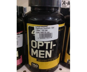 Optimum Nutrition  Opti-Men (Опти-Мен) 150 tab